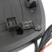 Кофр для мотоцикла (багажник) со стоп-сигналом и сигнализацией Coocase Wizard Черный матовый (36л)
