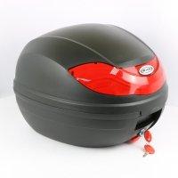 Кофр для мотоцикла (багажник) FXW HF-815 Black (430*410*320мм)