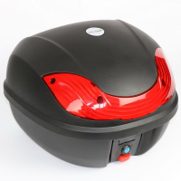 Кофр для мотоцикла (багажник) (430*410*320мм) FXW HF-816 Чёрный мат