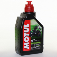 Масло Motul Scooter Expert 4T Technosynthese 10W40 1 литр