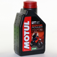 "Масло Motul Scooter Power 2T ""Ester"" 1 литр"