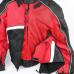 Мотокуртка текстильная 2 в 1 черно-бело-красная NF-7111 ATROX