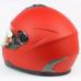Мотошлем (интеграл) FXW HF-122 красный матовый