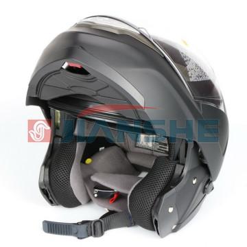 """Мотошлем """"ZEUS"""" ZS-3100 MATT BLACK (черный матовый)"""