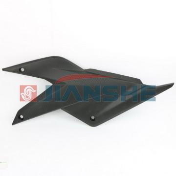 Крышка левая (боковой пластик) Loncin LX250GS-2A GP250