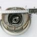 Барабан (крышка колеса) переднего тормоза с колодками и приводом спидометра JBW 125