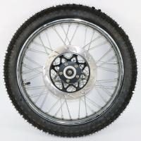 Колесо переднее, спицованное, дисковый тормоз Jianshe JS125-6A
