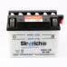 """Акумулятор """"4"""" Skyrich 12N4-3B 12V 4 Ah 120/70/92 (оригінал Alpha/Delta) (БІЛИЙ)"""