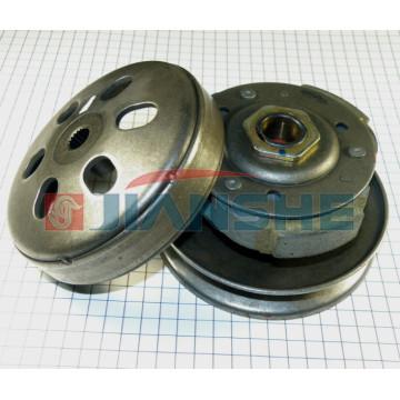 Вариатор задний (сцепление в сборе с колоколом) ZW150T-2 VOLCAN (157QMJ, GY6)