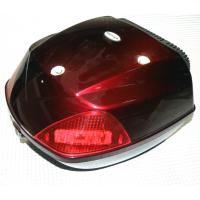 Кофр для мотоцикла (багажник) FXW HF-811 BLACK RED