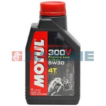 Масло Motul 300V Factory Line 4T 5W30 1 литр