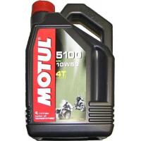 "Масло Motul 5100 4T Technosynthese ""Ester"" 10W50 4 литра"