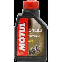 "Масло Motul 5100 4T Technosynthese ""Ester"" 15W50 1 литр"