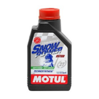 "Масло Motul Snowpower 2T Technosynthese ""Ester"" 1 литр"