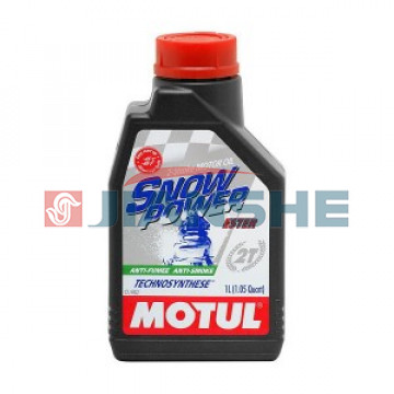 "Масло Motul Snowpower 2T Technosynthese ""Ester"" 1 литр"