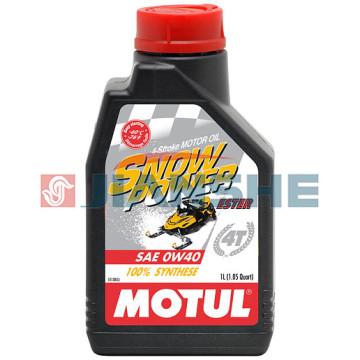 "Масло Motul Snowpower 4T 0W40 ""Ester"" 1 литр"
