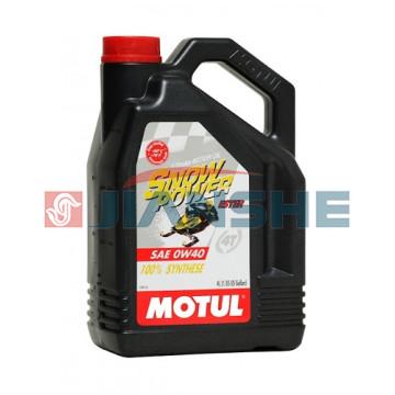 "Масло Motul Snowpower 4T 0W40 ""Ester"" 4 литра"