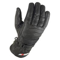 Мотоперчатки кожаные зимние черные ATROX NF-3960